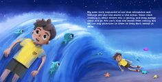 Helping children pay attention to the waves of emotions and sensations. From Listening to My Body.