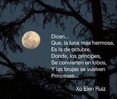Las lunas de octubre...