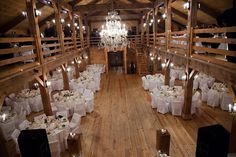 Would love it if there was such a barn as this in Kansas in my budget :/ Boston Barn Chic Wedding In Massachusetts