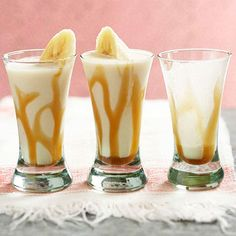 Bananas Froster YUM!! Banana Liqueur, rum, Whipping Cream AND Vanilla Ice cream!!