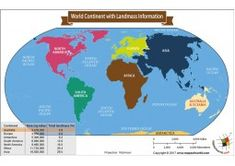 Buy Printed World Continent Map With Landmass from store mapsofworld available in laminated and paper format of 4 and 5 feet respectively at best printable quality. Blank World Map, Cool World Map, Usa Road Map, Name Of All Countries, Belgium Country, World Political Map, Zip Code Map, Vienna Map, Belgium Map