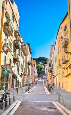 Stroll the chic streets in Cannes.