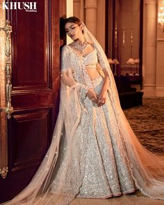 """Khush Wedding Magazine on Instagram: """"The classic bridal look in modern shades from @frontierraas are wedding winners  London brides now get 40% OFF till 25th April, book…"""" London Bride, Indian Photography, Indian Couture, Fashion Editor, Bridal Looks, Lehenga, Wedding Styles, That Look, Shades"""