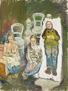 Jean and Dayan Artist/designer	John Bratby RA (1928 - 1992) Date	1968 Object type	Painting Copyright owner	Royal Academy of Arts Medium	Oil on canvas Dimensions	1525 mm x 1140 mm Collection	Royal Academy of Arts Object number	03/585 Acquisition