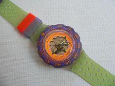 Hypocampus SDK103 V1 Swatch Watch 1991 Vintage Scuba 200