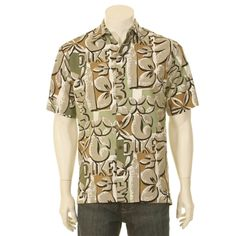 Duke Kahanamoku Nouveau Pareo Men's Hawaiian Shirt