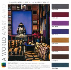 interiors home market fall winter 2013 2014 color trends, 6