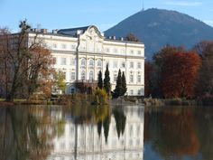 Von Trapp house from the Sound of Music, Salzburg, Austria
