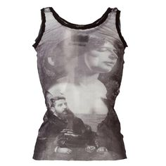 Jean Paul Gaultier Pre-Owned Sheer Printed Tank Top - Farfetch Jean Paul Gaultier, Mode Outfits, Fashion Outfits, Diy Fashion, Fashion Trends, Design Transparent, Mode Style, Fashion Killa, Look Cool