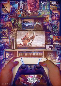 Playstation 5 - Horison forbidden west, Rachid Lotf