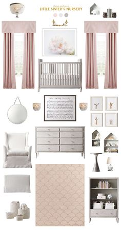 classic and polished pink nursery