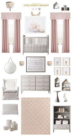 classic and polished pink nursery