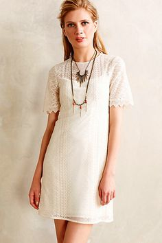 azores lace dress / anthropologie http://coolfashionstylely.tumblr.com/1