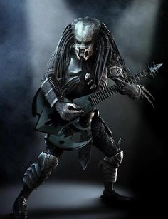 This Predator jams. this is too awesome Alien Vs Predator, Predator Cosplay, Predator Movie, Predator Alien, Aliens, Starwars, Art Alien, Scary Movie 3, Xenomorph