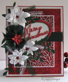 pamscrafts: Vintage Merry Christmas