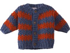 Bobo Choses Baby Knitted Cardigan STRIPES