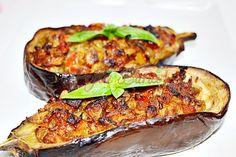 Mediterranean Recipes, Salmon Burgers, Baked Potato, Zucchini, Food And Drink, Potatoes, Baking, Vegetables, Breakfast
