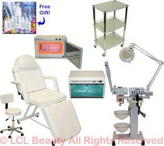 Equipment facial salon for