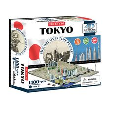 Tokyo 4D Puzzle, $27.99, now featured on Fab.