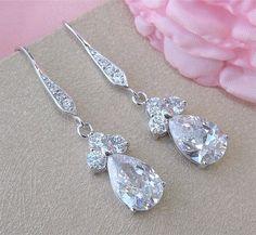 Bridal Earrings Wedding Earrings