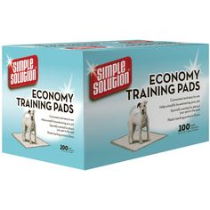 Simple Solution Economy Puppy Training Pads ** Click image for more details. (This is an Amazon affiliate link)