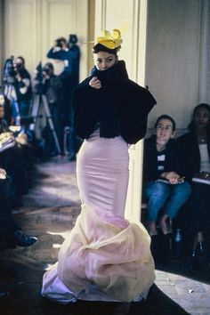 Christy Turlington, John Galliano Fall 1994 Ready-to-Wear Collection Photos - Vogue