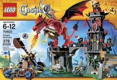 Amazon.com: Lego Castle Dragon Mountain - 70403: Toys & Games
