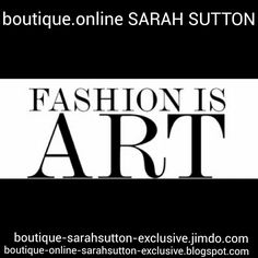Sarah Sutton fashion designer.