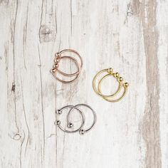 Meet Your Metal - Members can customize their Box of Style by choosing the La Soula ring set that suits their look. Choose your go-to molten, or try something new for a mixed-media effect. #accessoryrites #stackables