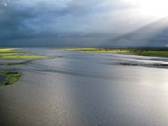 Sun Valley Magazine  Gorongosa National Park in Mozambique. Lake Urema. Photo by Jeff Trollip.