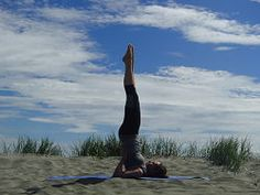 Sarvangasana - Shoulder Stand - Yoga Posture