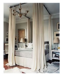 Bed With A Canopy 15 covet-worthy canopy beds | diy canopy, canopy and bedrooms
