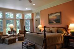 Bluff Plantation - traditional - bedroom - charleston - by Frederick + Frederick Architects