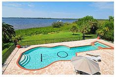 Guitar-Shaped Pool Centerpiece of Bradenton, FL Home | Zillow Blog