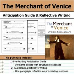 "the structure of the merchant venice english literature essay ""the merchant of venice"" is set in 16th century venice venice became a trade centre as it is located on the coast, surrounded by a large."