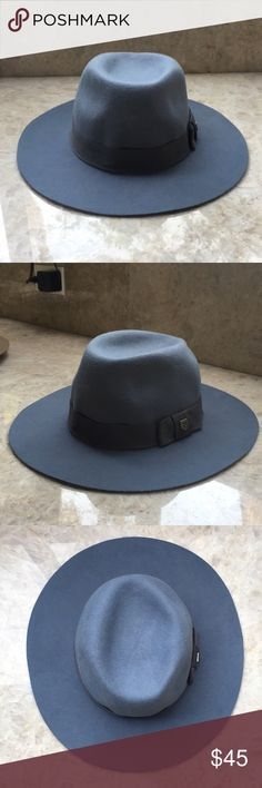 65049b47931f3 Shop Women s Brixton Blue Gray size OS Hats at a discounted price at  Poshmark. Light Blue in color.