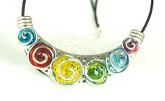 Items similar to Pearly Elegant Colorful Flower Neckless - Lampwork Jewelry - Glass Bead Jewelry - Beadwork Jewelry - Elegant Jewelry, jewelry supplies on Etsy Bead Jewelry, Jewellery, Beaded Flowers, Colorful Flowers, Jewelry Supplies, Beadwork, Pear, Washer Necklace, Glass Beads