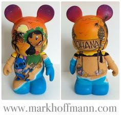 Lilo and Stitch Custom Vinylmation by Mark J. Hoffmann.