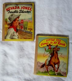 Vintage Books Nevada Jones Trouble Shooter and by VistaChick