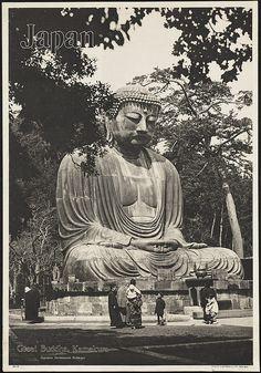 Japan. Great Buddha, Kamakura