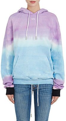 Shop Now - >  https://api.shopstyle.com/action/apiVisitRetailer?id=616383681&pid=uid6996-25233114-59 Off-White c/o Virgil Abloh Women's Tie-Dyed Cotton Terry Hoodie  ...