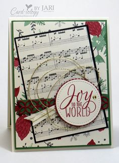 sentiment, Joy to the World, from Tin of Tags