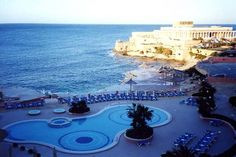 Location:  The Westin Hotel, Malta.  This was my view waking up daily for 12-days.   Heaven on Earth!