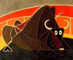 Tauromaquia, 1951.Tauromaquia, 1951. Cubismo - Óscar Domínguez