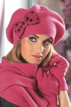 Kamea Stella Red Beret #winter | | OtherEden.co.uk