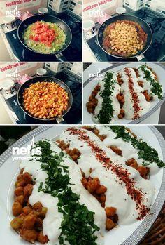 Yoğurtlu Nohut Salatası (Gün Misafir) Tarifi nasıl yapılır? 13.563 kişinin defterindeki bu tarifin resimli anlatımı ve deneyenlerin fotoğrafları burada. Yazar: Nesli'nin Mutfağı