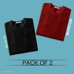 Checkout this latest Tshirts Product Name: *Stylish Cotton Solid Men's TShirts* Fabric: Cotton Sleeve Length: Short Sleeves Pattern: Solid Multipack: 2 Sizes: S, M, L, XL, XXL Country of Origin: India Easy Returns Available In Case Of Any Issue   Catalog Rating: ★4 (395)  Catalog Name: Stylish Cotton Solid Men's TShirts CatalogID_1954968 C70-SC1205 Code: 054-10665961-3411