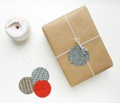 Cotton & Flax holiday tags