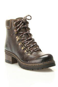 Born Joanna Hike Boot In Dark Brown - Beyond the Rack