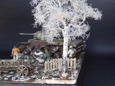 16 Diorama, Russia, Winter, Model, Winter Time, Models, Modeling